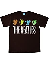 The Beatles - John - Paul - George - Ringo - Pop Easyfit T-shirt - marron - Design original sous licence - LOGOSHIRT