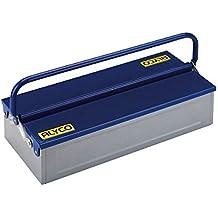Alyco 192733 - Caja de herramientas metalica de 1 bandeja 460 x 210 x 110 mm