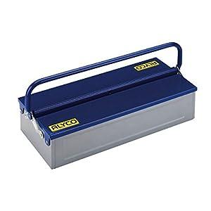 Alyco 192733 – Caja de herramientas metalica de 1 bandeja 460 x 210 x 110 mm
