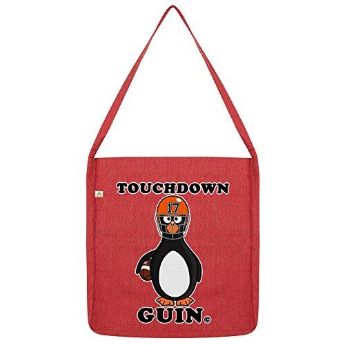 Twisted Envy Touchdown Guin Quarterback Pinguin Tasche Rot - Touchdown Kostüm