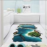 Cmdyz 3D Fly Dinosaurier Boden Aufkleber Männer Jungen Kinder Hause Wohnzimmer Schlafzimmer Salon Decor Pterodactyl Sea Entfernung Wandbild Poster