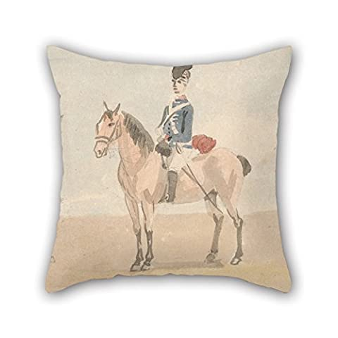 Bestseason 18 X 18 Inches / 45 By 45 Cm Oil Painting Paul Sandby - The Light Dragoons Cushion Cases,two Sides Is Fit For Dining Room,birthday,festival,office,chair,bf