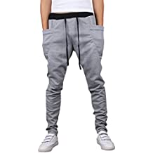 Los Hombres Pantalones De Chándal Deporte Pantalones Pantalones De Chándal Aptitud Sweatpants De Entrenamiento Rucio S