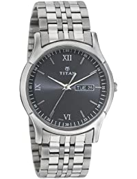 Titan Karishma Analog Black Dial Men's Watch -NK1636SM01
