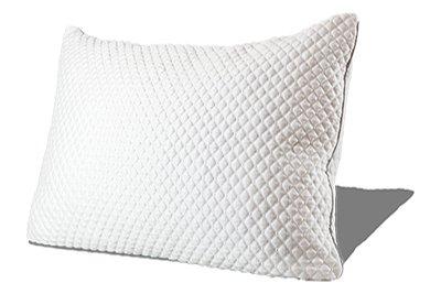 PureComfort - Almohada de espuma viscoelástica con relleno ajustable de gel de alta calidad - Hipoalergénica - Funda extraíble refrigerante de bambú, Matrimonio doble