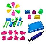SUPVOX 31 stücke Kinder Strand Formen Spielzeug Kunststoff Sommer Strand Sandkasten Spielzeug Spielset Pädagogisches Spielzeug (Zufällige Farbe)