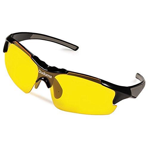 Duduma-Gafas-de-Sol-Deportivas-Polarizadas-Lente-Amarilla-Visin-Nocturna-Para-Esquiar-Golf-Correr-Ciclismo-TR46-Sper-Liviana-Para-Hombre-y-Mujer-marco-negro-con-lente-amarilla