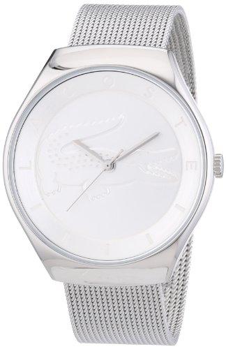 Lacoste Watches - 2000764 - Montre Femme - Quartz Analogique - Cadran Argent - Bracelet Acier Argent