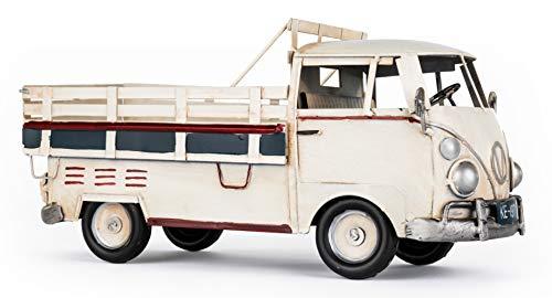 Solinga Deko Flaschenhalter Pick-Up Truck Geschenke für Männer | Geschenkidee für Handwerker | Weinflaschenhalter Metallflaschenhalter LKW