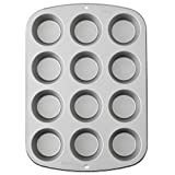 Wilton Cupcake/Muffin Baking Tin, Recipe Right, Non-Stick, 12 Holes