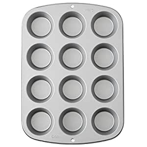 Wilton Cupcake/Muffin Baking Tin, Recipe Right, Non Stick, 12 Holes