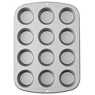 Wilton Cupcake/Muffin Baking Tin, Recipe Right, Non Stick, 12 Holes (B003W0UMPI) | Amazon price tracker / tracking, Amazon price history charts, Amazon price watches, Amazon price drop alerts