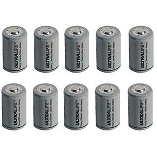 Akkuman.de Set 10x Ultralife Lithium 3,6V Batterie LS 14250-1/2 AA - ER14250 Li-SOCl2 LS14250 (10er)