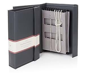 grau little book von halsketten ein buch f r die aufbewahrung ihrer ketten tangle frei und. Black Bedroom Furniture Sets. Home Design Ideas