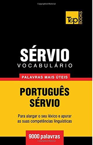 Vocabulário Português-Sérvio - 9000 palavras mais úteis