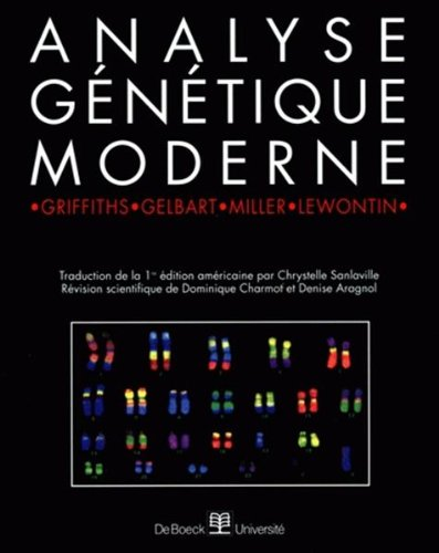 Analyse génétique moderne par William-M Gelbart