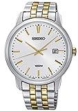 Seiko Herren-Armbanduhr Quarz Bicolor SUR263P1