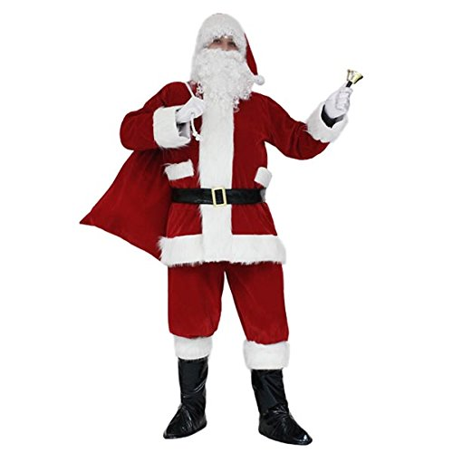 Pegasus Vestito Babbo Natale Santa Claus Lusso - Taglia XXXL - 60/62 Uomo