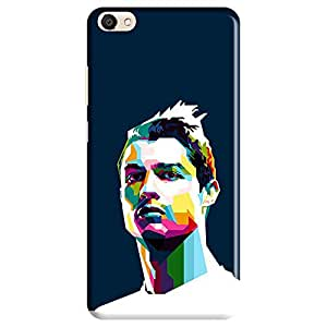 Mobo Monkey Designer Printed Back Case Cover for Vivo V5 (Ronaldo :: Soccer :: Cristiano Ronaldo :: Portugal :: Real Madrid)