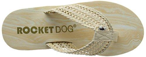 Rocket Dog Diver, Sandales Plateforme femme Beige (Swella Natural)