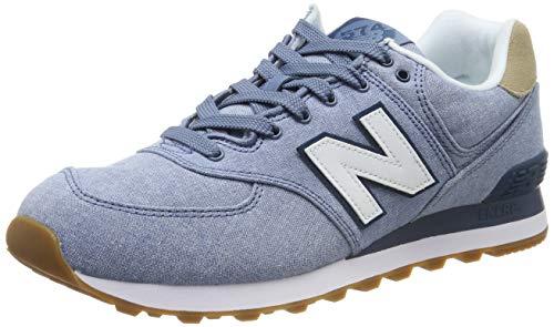 New Balance Herren 574v2 Sneaker, Blau Chambray, 44 EU