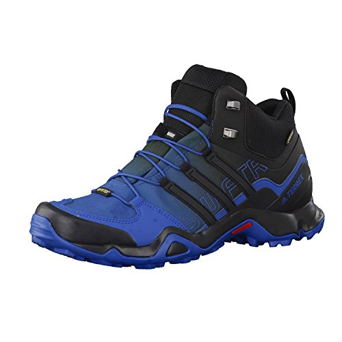 adidas TERREX Swift R Mid GTX chaussures hiking Bleu (Azubas/negbas/blatiz)