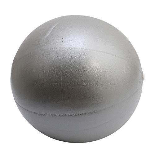 SEVENHOPE Übungsball (18-27CM) Starker Yoga Ball Chair Ball für Fitnessübungen grau (7 In Pilates Ball)