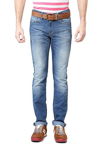 Van Heusen Mens Slim Fit Pants_ VDDN515D07950_36_ Blue