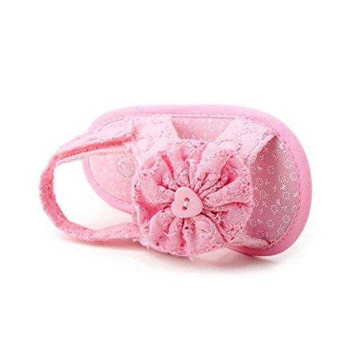 Babyschuhe Longra Baby Blumen Sandelholz Kleinkind Prinzessin erste Wanderer Mädchen lauflernschuhe krabbelschuhe Sandalen