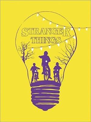 Image Alternative stranger things yellow version art - Golden Planet Prints - inexpensive UK light shop.