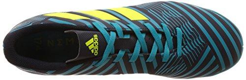 adidas Herren Nemeziz 17.4 in Fußballschuhe Mehrfarbig (Legend Ink/Solar Yellow/Energy Blue)