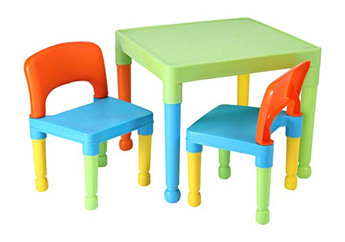 Liberty house toys tavolo da gioco per bambini con sedie in