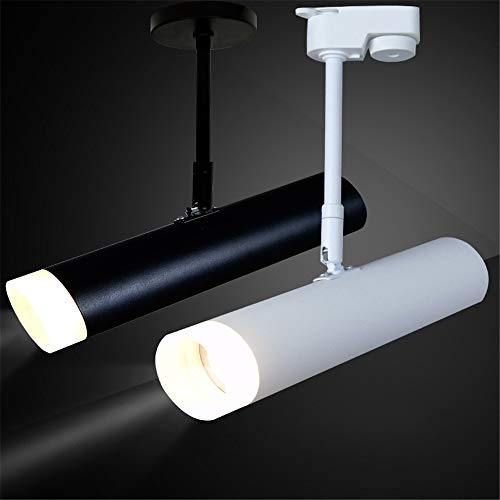 Led Track Light 30w Cob Spotlights 85-265v Modern Ceiling Home Wall Deco Track Rail Spot Fixture For Retail Shop Art Gallery Keep You Fit All The Time Track Lighting