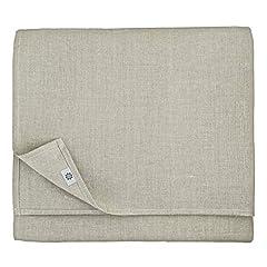 Idea Regalo - Linen & Cotton Tovaglia da Tavola In Stoffa Lino Naturale ANABELLA - 100% Lino (147 x 300cm)
