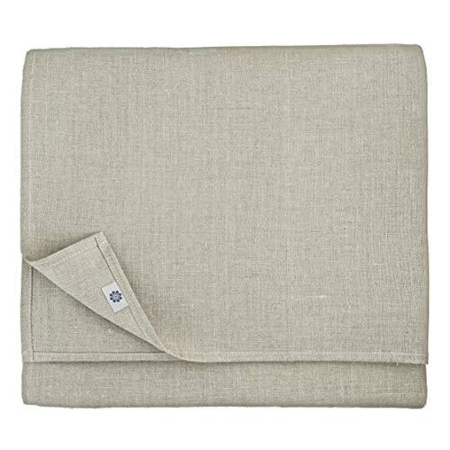 Linen & Cotton Nappe de Luxe Anabella, 100% Lin - Naturel/Beige (147 x 200cm)