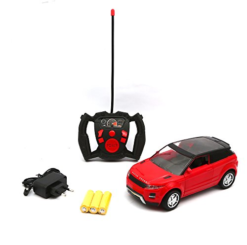 Wish key Remote Control Suv Model Door Open Red Car For Kids  available at amazon for Rs.679