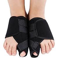 Halovie Toe Pad Bunion Corrector Foot Hallux Valgus Corrector Bunion Straighteners Toe Sleeves Bunion Relief (Bunion Bandage)