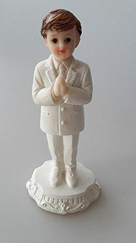 Kommunion Figur Junge stehend klein Tortendekoration Dekorationfigur Tischdekoration Dekoration *NEU*