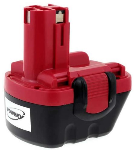 Akku für Bosch Bohrschrauber / Akkuschrauber PSR12VE-2 || NiMH-Technologie || Spannung 12V || Kapazität 2000mAh || hochwertiges Gehäuse || frische Akkuzellen ||