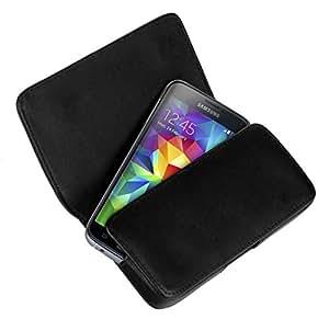 yayago Fullstyle Quertasche Tasche für Samsung Galaxy S5 Tasche Schwarz