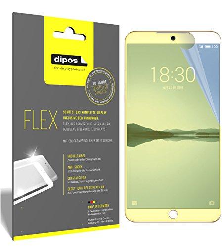 dipos I 3X Schutzfolie 100prozent passend für Meizu 15 Plus Folie (Vollständige Bildschirmabdeckung) Bildschirmschutzfolie