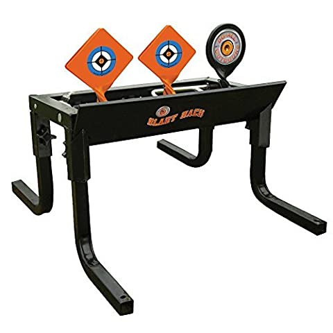 Do-All Outdoors - Blast Back Auto Resetting Steel Target, Rated for .22/.17 Caliber by Do-All Outdoors
