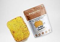 Nutrisnacksbox Millet Crackers, 100 Grams (Pack of 2) Low Sugar, Low Fat, Fibre Rich, Protein Rich, Zero Refined Flour (Maida)