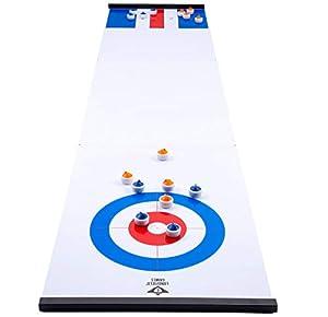 Engelhart- Curling y Shuffleboard 2 en 1, Color One Colour (340500)