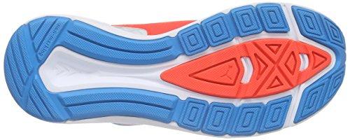 Puma Speed 300 Jr, Chaussures de course mixte enfant Blanc - Weiß (white-atomic blue-red blast 01)