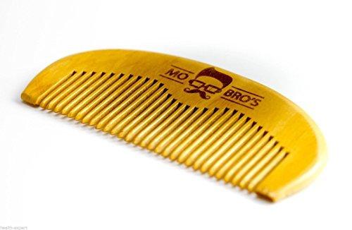 Mo Bro's Peigne à barbe en bois – Fabriqué en Angleterre