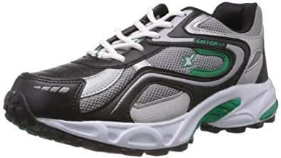 Sparx Men's Black and Green Running Shoes - 6 UK (SM-171)