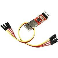 Adaptador de Corriente, interfaz serie/UART TTL, 3.3V/5V, CP2102usb Serial Converter Con Conexión Para Linux, MacOS, Win7, Win8, win10