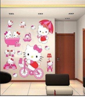 hello-kitty-wandsticker-hallo-kitty-wanddekoration-kinder-wandbild-aufkleber