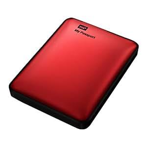 Western Digital MyPassport Ultra 1 TB Externe Festplatte (6,4 cm (2,5 Zoll), USB 3.0) rot